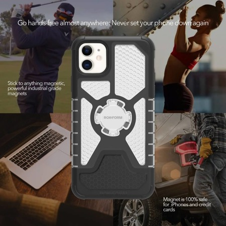 Apple iPhone 11 Crystal Carbon Clear Case