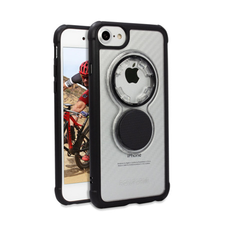 Apple iPhone  6 / 7 / 8 Crystal Carbon Clear Case