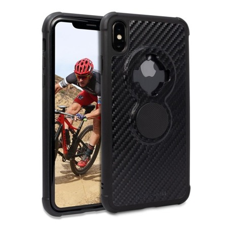 Apple iPhone XS Max Crystal Carbon Black Case