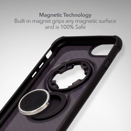 Die Hülle RokForm Crystal Carbon Black für Apple iPhone  6 / 7 / 8