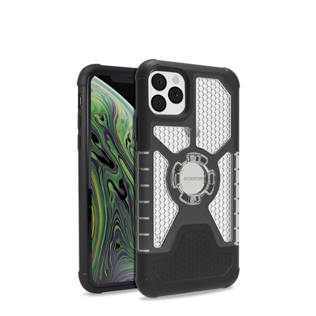 Die Hülle RokForm Crystal Carbon Clear für Apple iPhone 11 Pro