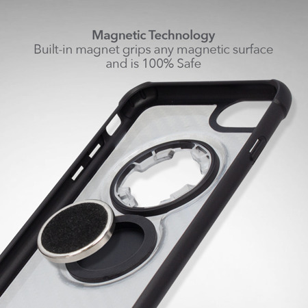 Die Hülle RokForm Crystal Carbon Clear für Apple iPhone  6 / 7 / 8