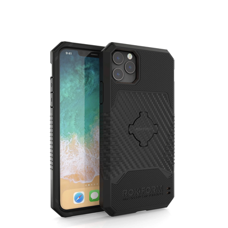 Etui RokForm Rugged Black do Apple iPhone 11 Pro - czarne