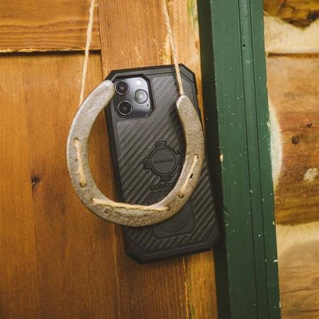 Etui RokForm Rugged Black do Apple iPhone 12 Mini - czarne