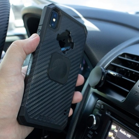 Etui RokForm Rugged Gunmetal do Apple iPhone XS Max szare